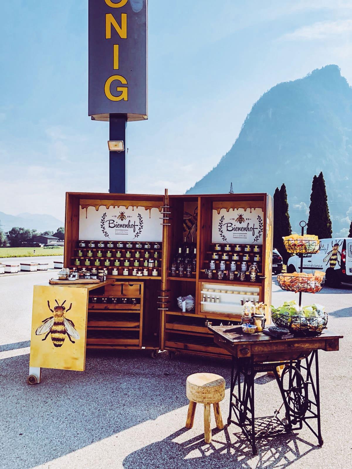 Bienenhof Zillertal Familienbetrieb Bauernmärkte